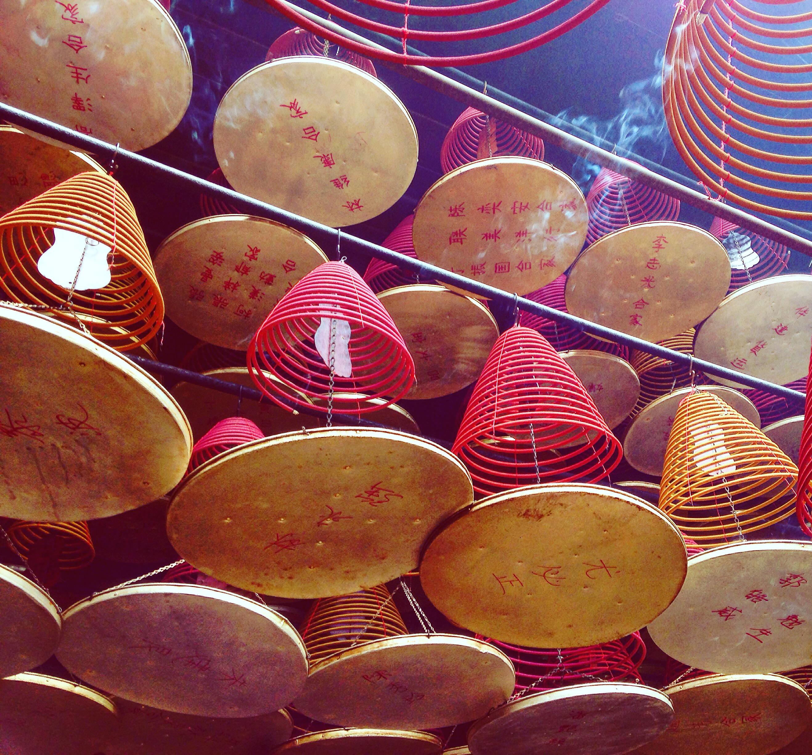 Tin Hau Tempel - wo ich übrigens die einzige Touristin war